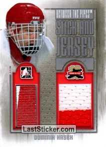 Dominik Hasek (Stick and Jersey)