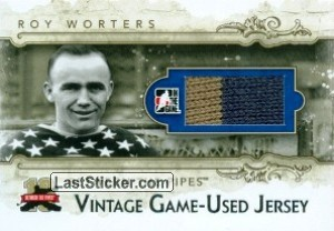 Roy Worters (Vintage Game-Used Patch)