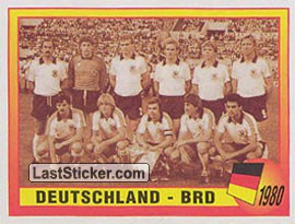 1980 - Deutschland - BRD (Roll of Honour)