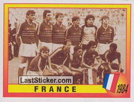 1984 - France (Roll of Honour)