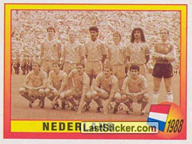 1988 - Nederland (Roll of Honour)