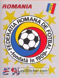 Romania badge (Romania)