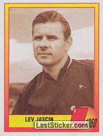 1960 - Lev Jascin (Roll of Honour)