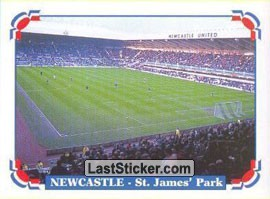 Newcastle - St. James' Park (Cities and Stadiums)