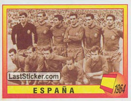 1964 - España (Roll of Honour)
