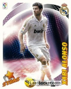Xabi Alonso (Real Madrid) (17) (Stars)