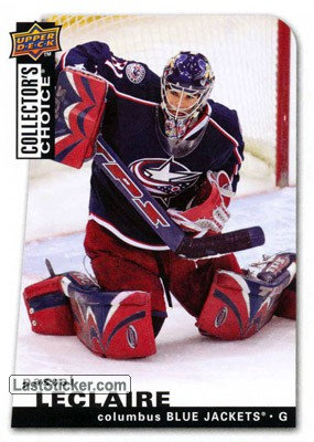 Pascal Leclaire (Columbus Blue Jackets)