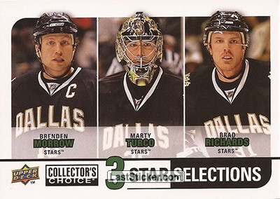Marty Turco / Brad Richards / Brenden Morrow (Dallas Stars)