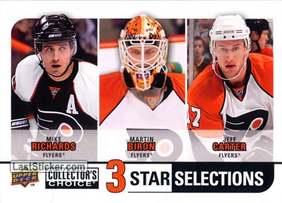 Martin Biron / Jeff Carter / Mike Richards (Philadelphia Flyers)