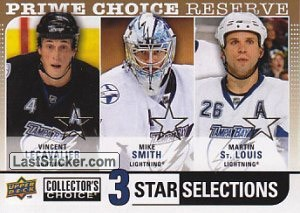 Mike Smith / Vincent Lecavalier / Martin St. Louis (Tampa Bay Lightning)