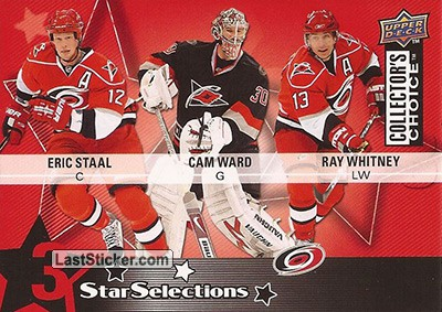 Eric Staal / Cam Ward / Ray Whitney (Carolina Hurricanes)
