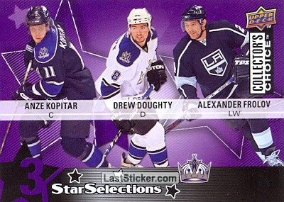 Anze Kopitar / Drew Doughty / Alexander Frolov (Los Angeles Kings)