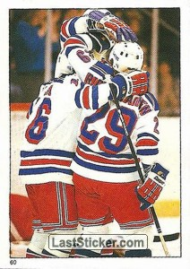 New York Rangers (1985-86 Action)