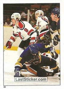 New Jersey Devils vs St. Louis Blues (1985-86 Action)