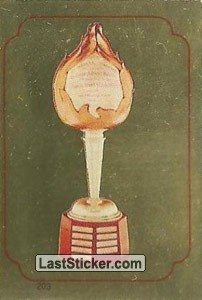 Hart Trophy (1984-85 Leaders)