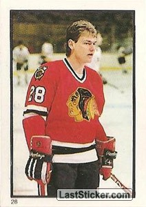 Steve Larmer (Chicago Black Hawks)