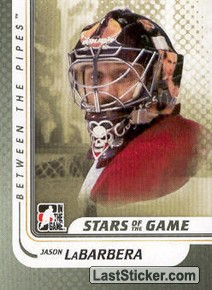 Jason LaBarbera (Stars of the Game)