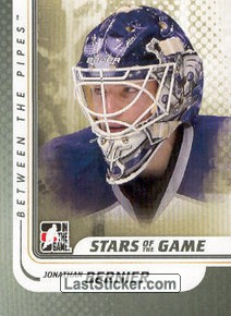 Jonathan Bernier (Stars of the Game)