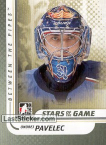 Ondrej Pavelec (Stars of the Game)