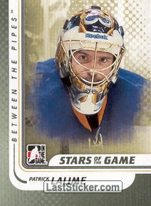 Patrick Lalime (Stars of the Game)