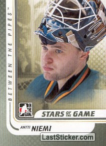 Antti Niemi (Stars of the Game)