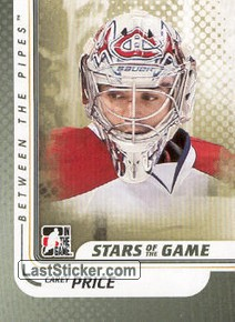 Carey Price (Stars of the Game)