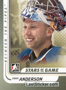 Craig Anderson (Stars of the Game)