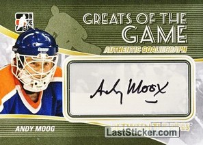 Andy Moog (Greats Of The Game)