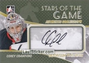 Corey Crawford (Stars Of The Game)