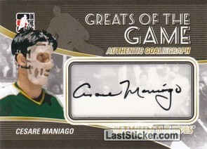 Cesare Maniago (Greats Of The Game)