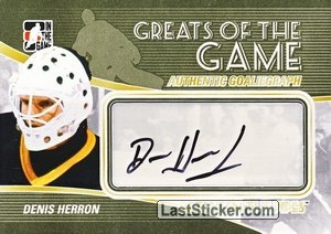 Denis Herron (Greats Of The Game)