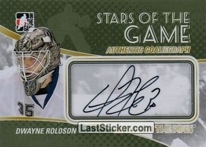 Dwayne Roloson (Stars Of The Game)