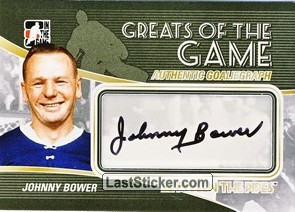 Johnny Bower (Greats Of The Game)