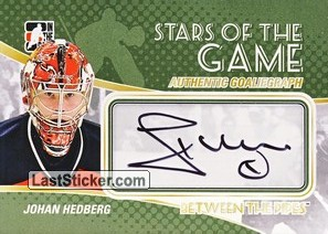 Johan Hedberg (Stars Of The Game)
