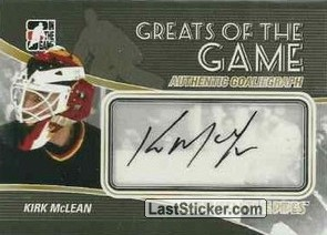 Kirk McLean (Greats Of The Game)