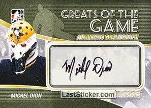 Michel Dion (Greats Of The Game)