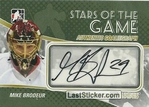 Mike Brodeur (Stars Of The Game)