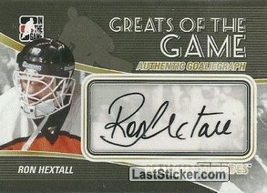 Ron Hextall (Greats Of The Game)