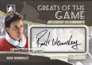 Rick Wamsley (Greats Of The Game)