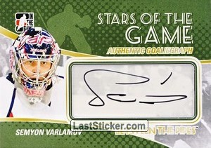 Semyon Varlamov (Stars Of The Game)