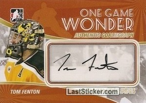 Tom Fenton (One Game Wonder)