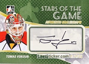 Tomas Vokoun (Stars Of The Game)