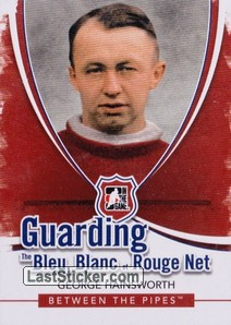 George Hainsworth (Guarding The Bleu Blanc et Rouge Net)