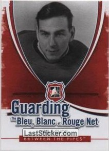 Wilf Cude (Guarding The Bleu Blanc et Rouge Net)