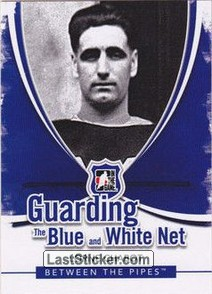 Lorne Chabot (Guarding The Blue&White Net)