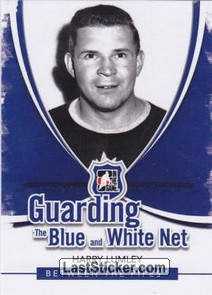 Harry Lumley (Guarding The Blue&White Net)