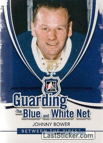 Johnny Bower (Guarding The Blue&White Net)