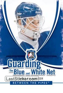 Mike Palmateer (Guarding The Blue&White Net)