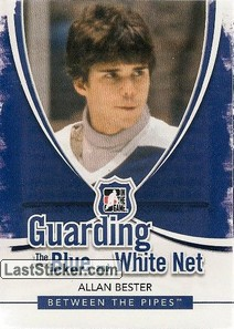 Allan Bester (Guarding The Blue&White Net)