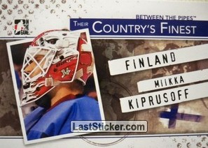 Miikka Kiprusoff  (Their Country's Finest)